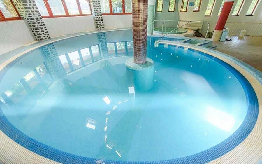 Vnitřní bazén nadchne malé i velké