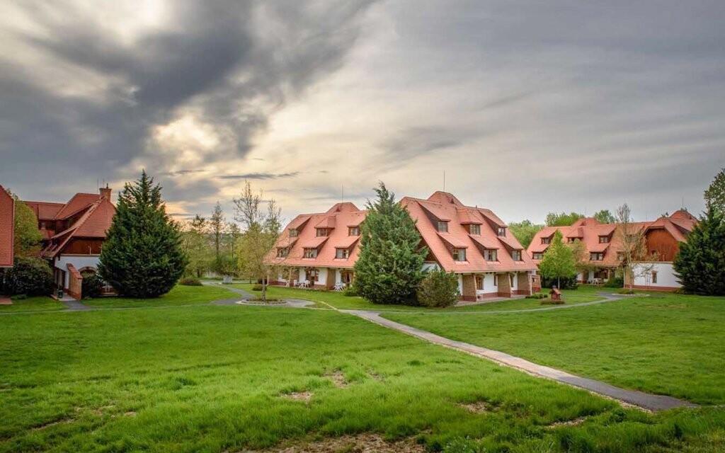 Ubytování se nachází v klidné lokalitě blízko Hévízu