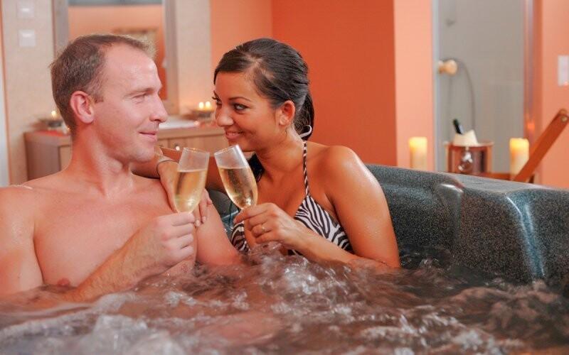 Odpočinout si můžete i v hotelovém wellness