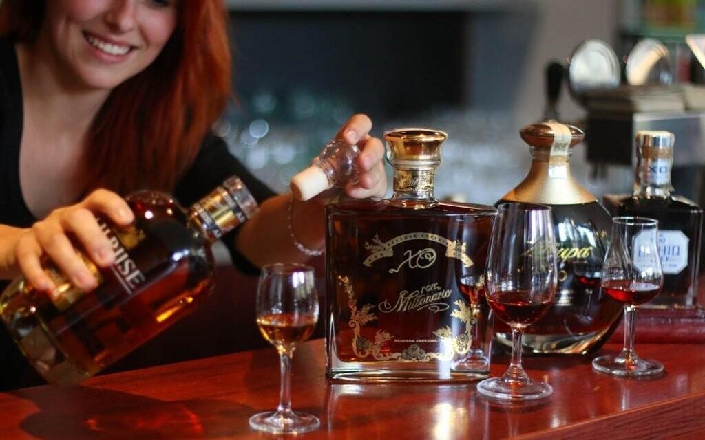 Užijte si rumovou degustaci