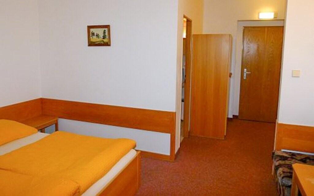 Každý pokoj má i vlastní sociální zařízení