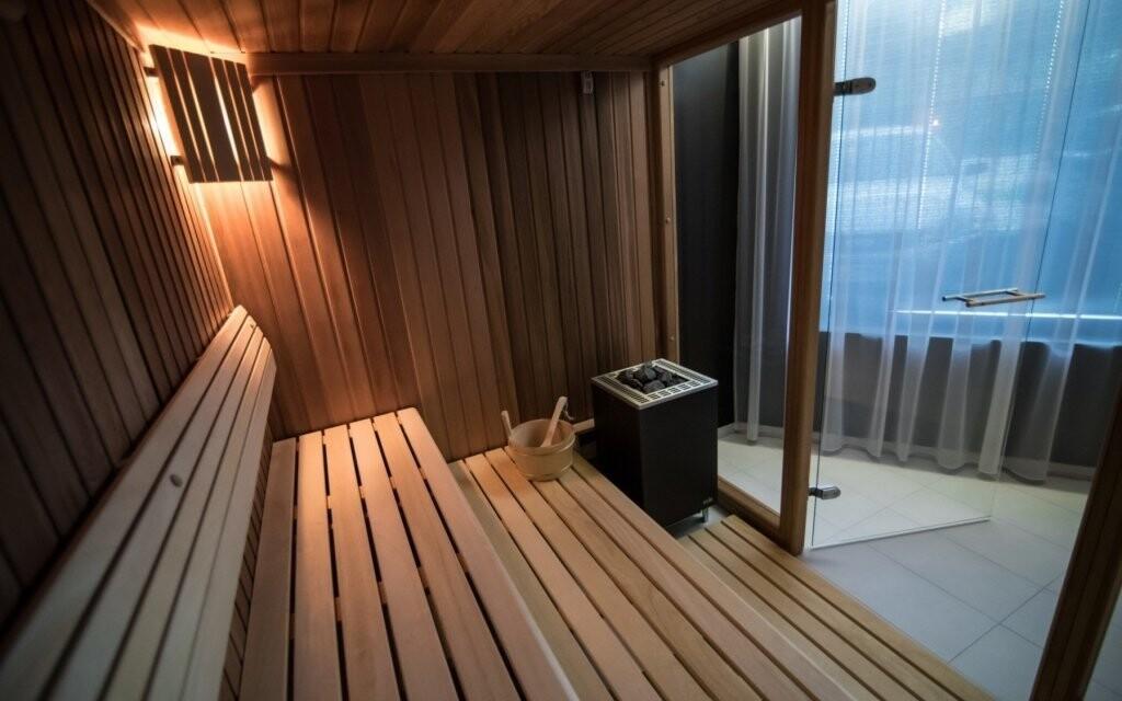 Prohřejte se ve finské sauně