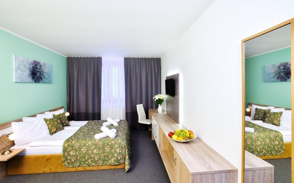 Izby sú moderné a komfortne vybavené