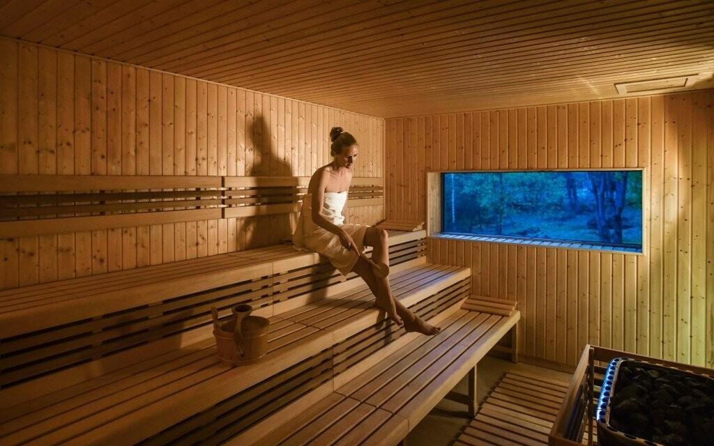 Prohřejete se ve finské sauně