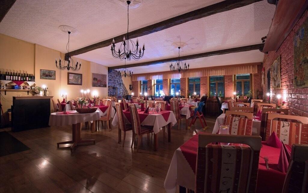 V reštaurácii si pochutnáte na luxusných pokrmoch