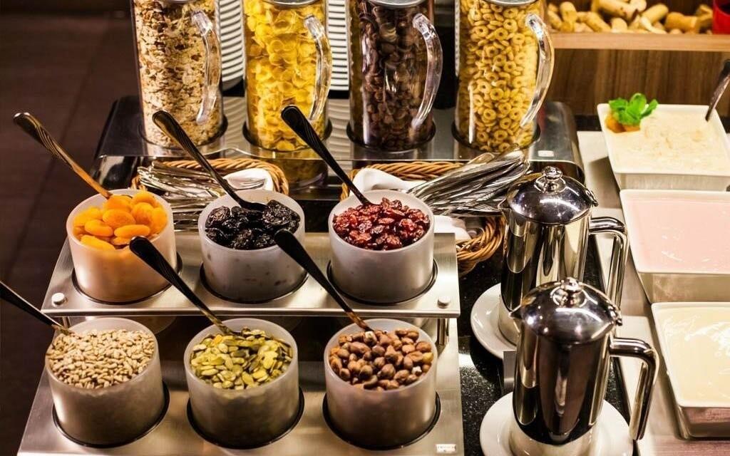 Čeká vás snídaně s výběrem z více než 100 produktů