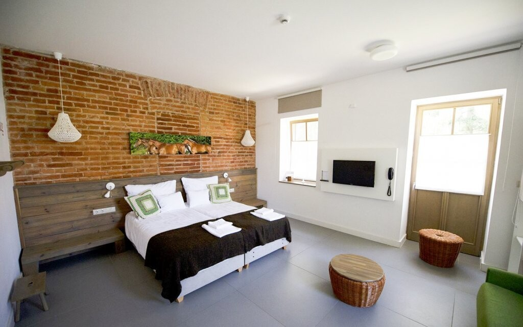 Ubytujete se v komfortních pokojích