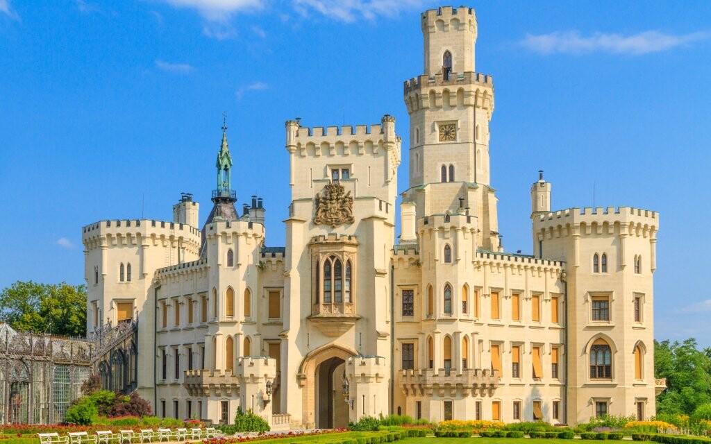 Nevynechajte návštevu rozprákového zámku Hluboká nad Vltavou