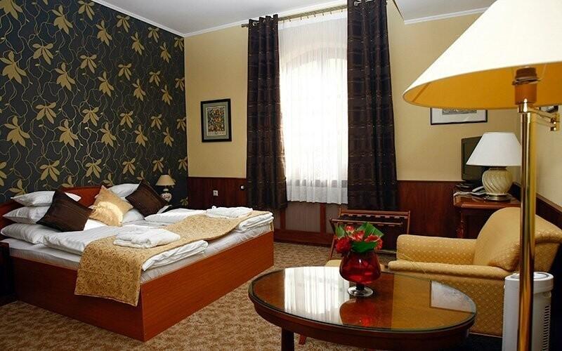 Čeká vás ubytování v pokojích Standard