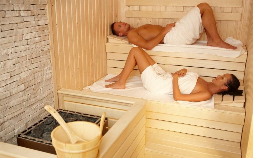...nebo sauna
