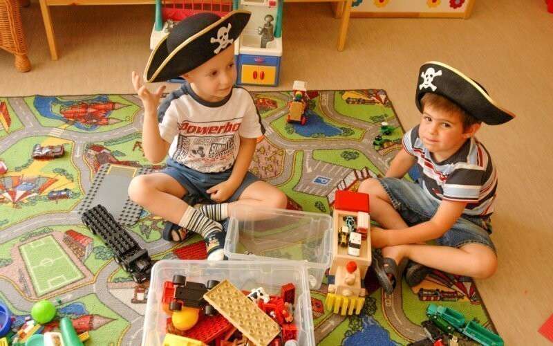 Děti si vyhrají v Pinocchio Clubu