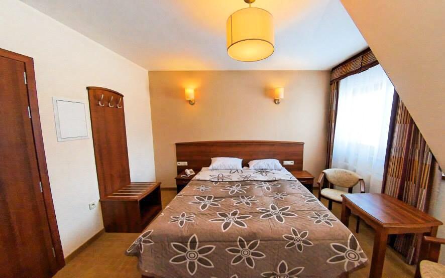 Moderně zařízené pokoje