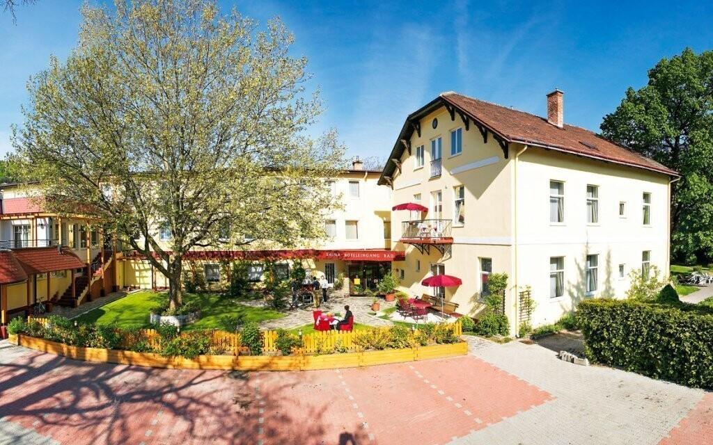 Hotel leží ve skvělé lokalitě