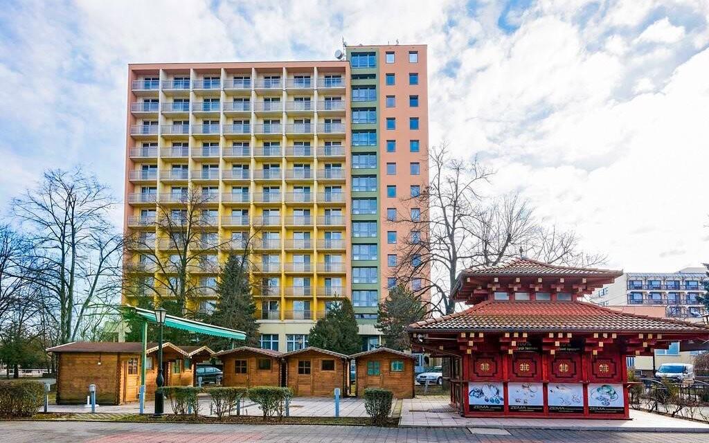 Hotel Barátság nabízí kromě lázní i komfortní ubytování