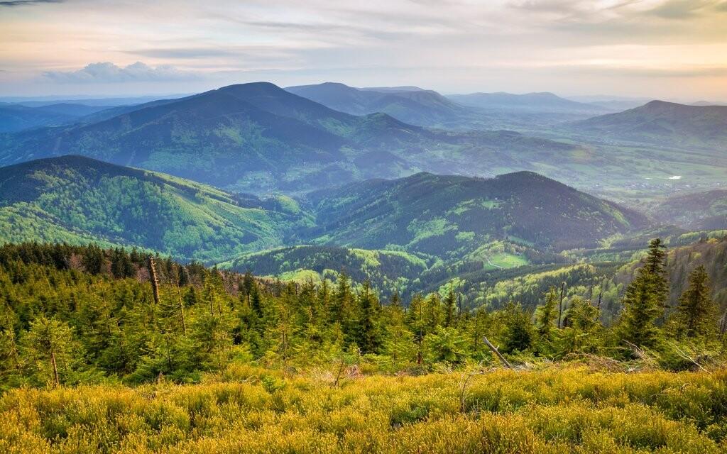 Dovolená v Beskydech, turistika v přírodě