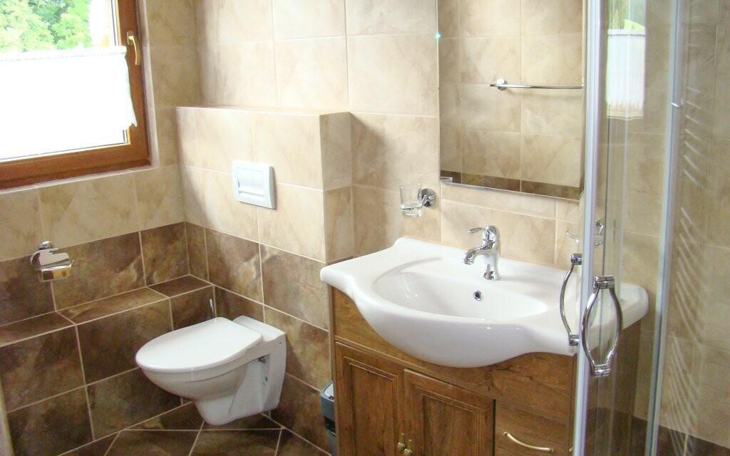 Budete mít samozřejmě i vlastní koupelnu