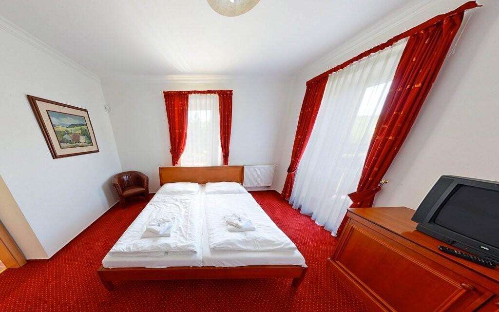 Izby sú vybavené pre maximálne pohodlie hostí