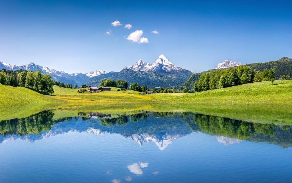 Hotel leží v blízkosti největšího německého horského jezera
