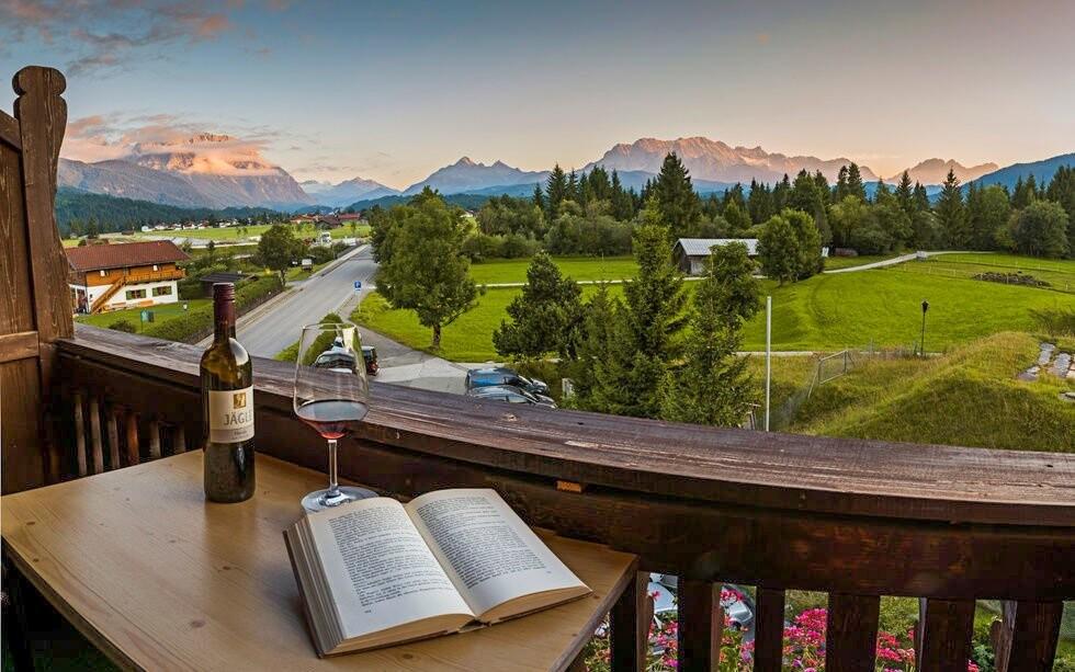 Užijte si skvělý výhled z balkonu