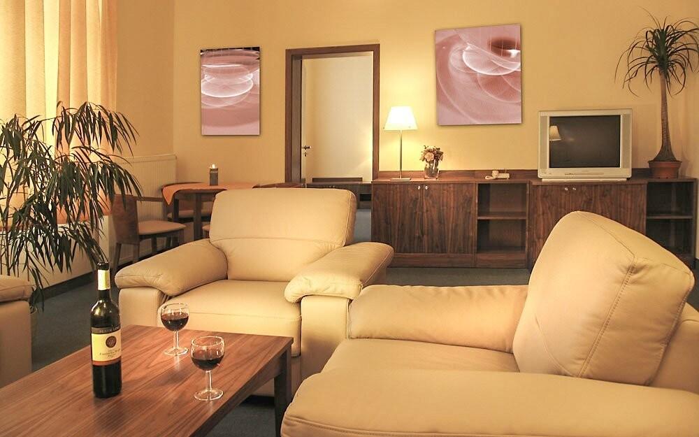 Perfektní odpočinek zaručí pohodlné pokoje
