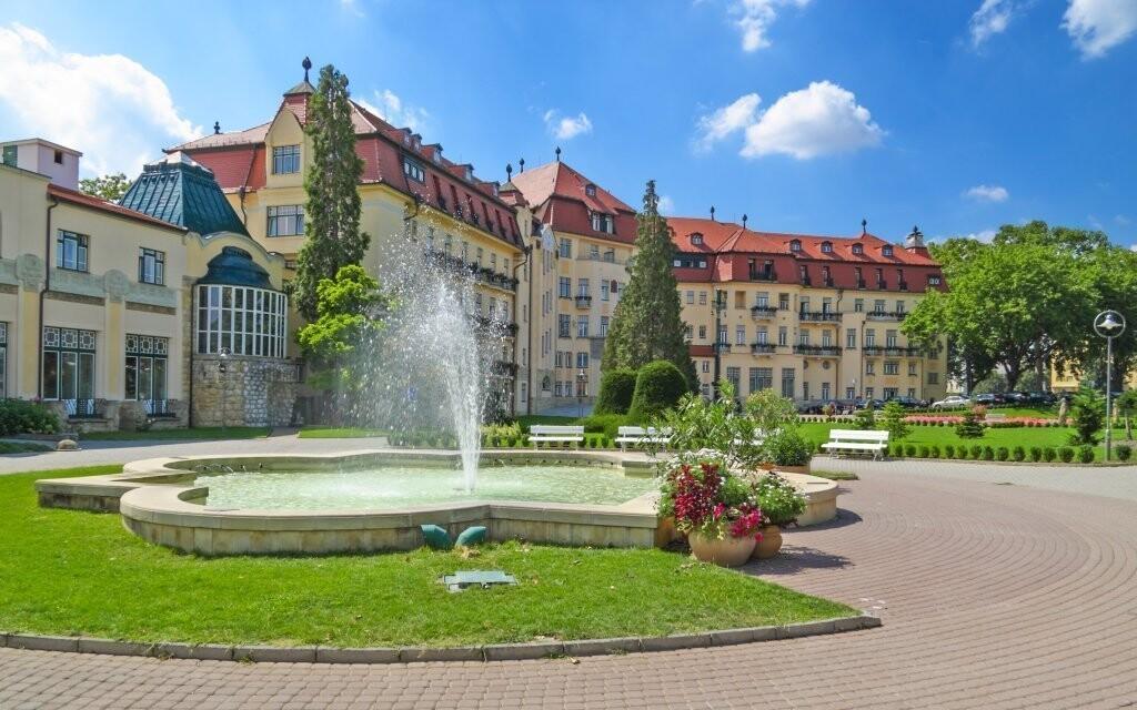 Kúpeľné mesto Piešťany