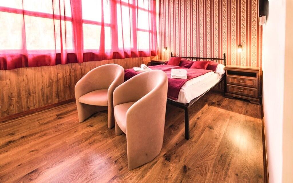 Ubytovaní budete v krásnych izbách Comfort