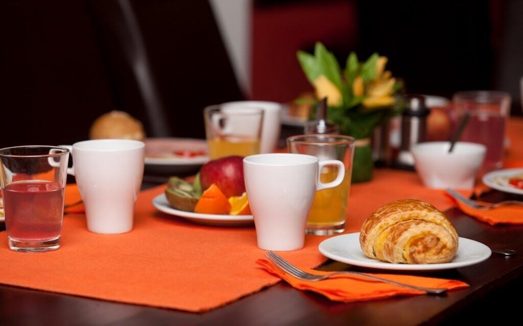 Čekají vás vydatné snídaně formou bufetu