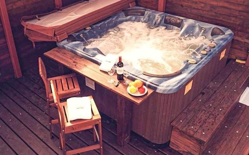 Užijte si relaxaci ve vířivce