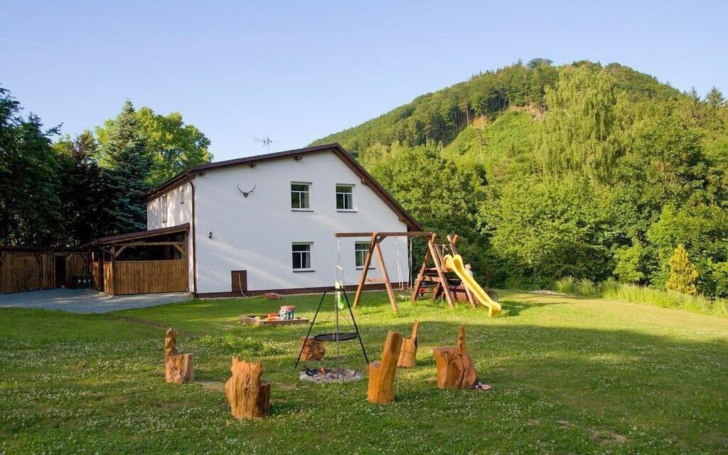 Apartmány a okolí jsou vhodné pro rodinnou dovolenou
