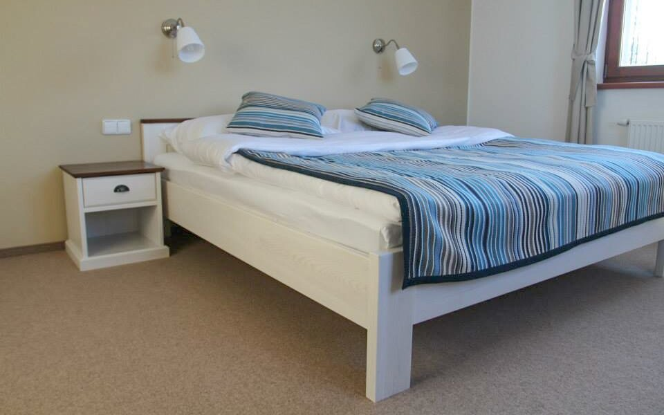 Komfortne zariadené izby zodpovedajú štandardu 4*