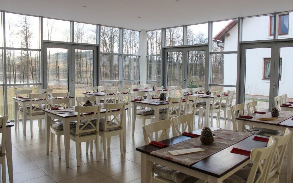 V reštaurácii vás dostane nádherný výhľad na okolie