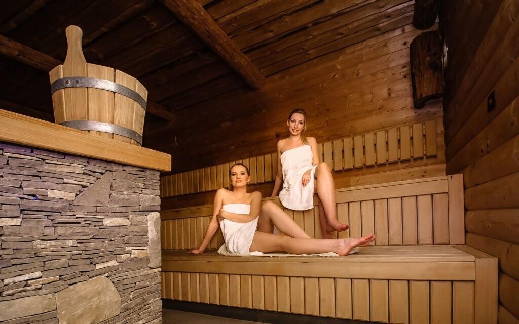 Nesmí chybět finská sauna