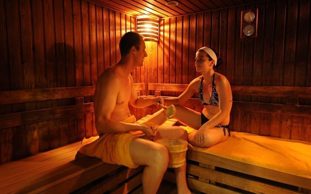 Určitě oceníte i saunový svět
