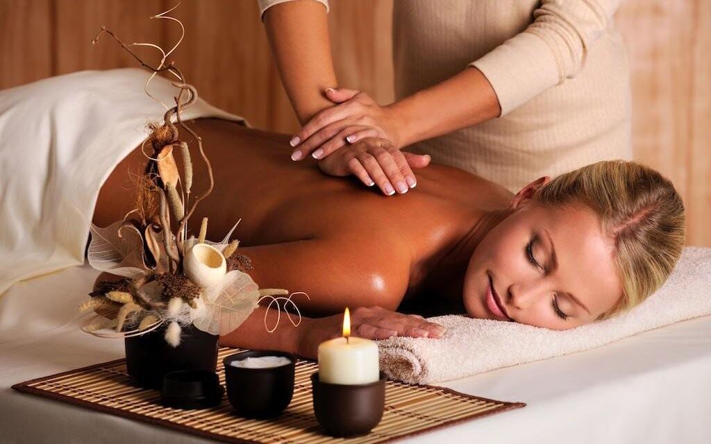Čeká vás také masáž