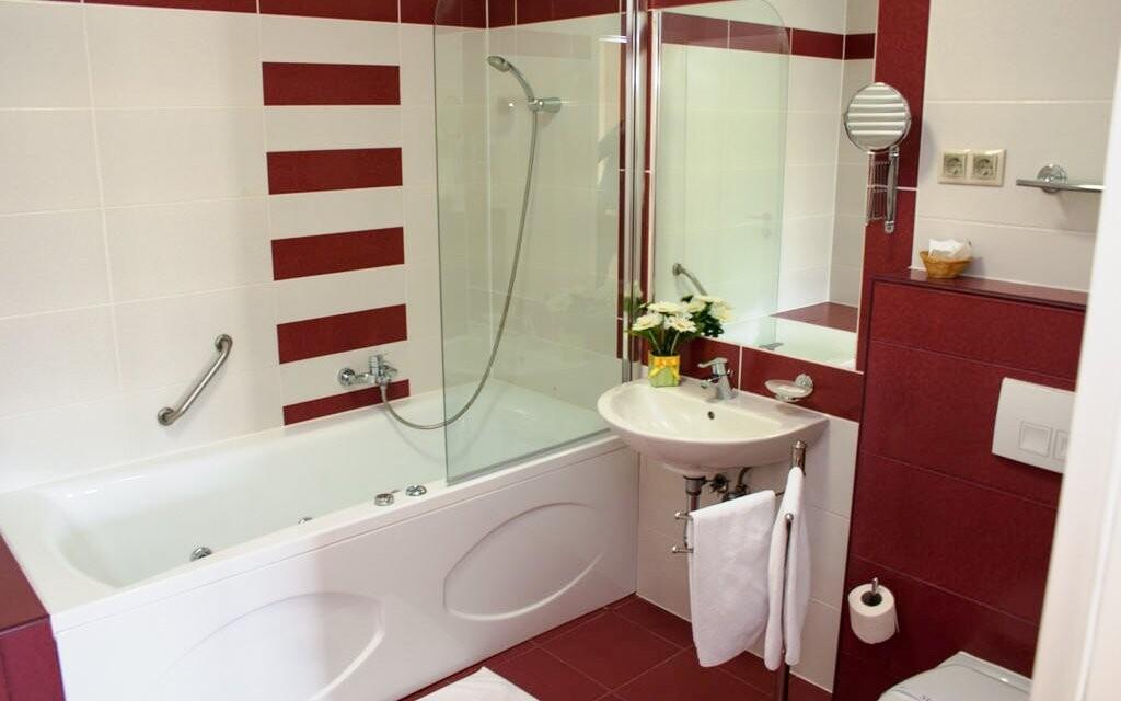 Moderní a čistá koupelna je samozřejmostí
