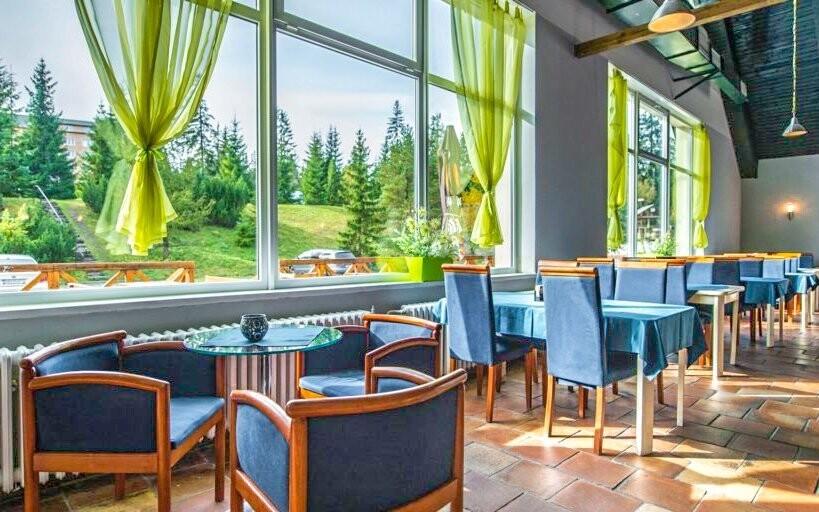 V jedálni si vychutnáte výborné raňajky aj večere