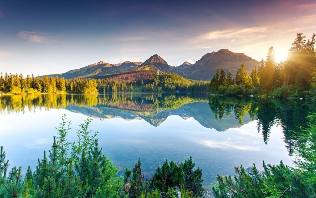 Obdivujte místní krásnou přírodu