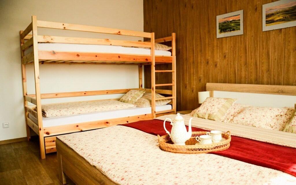 Ubytování je možné až pro 6 osob