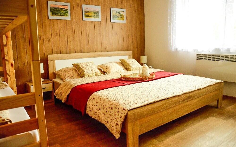 Ubytujte se v apartmánech Penzionu Kateřina v Mikulčicích