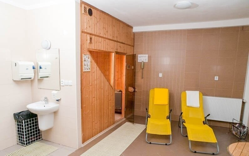 Odpočinout si můžete v hotelové sauně