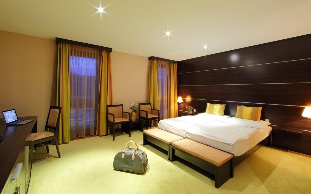 Za příplatek si užijte luxus pokojů Deluxe