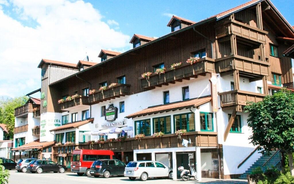 Ferienhotel Waldspitze stojí na dosah přírody