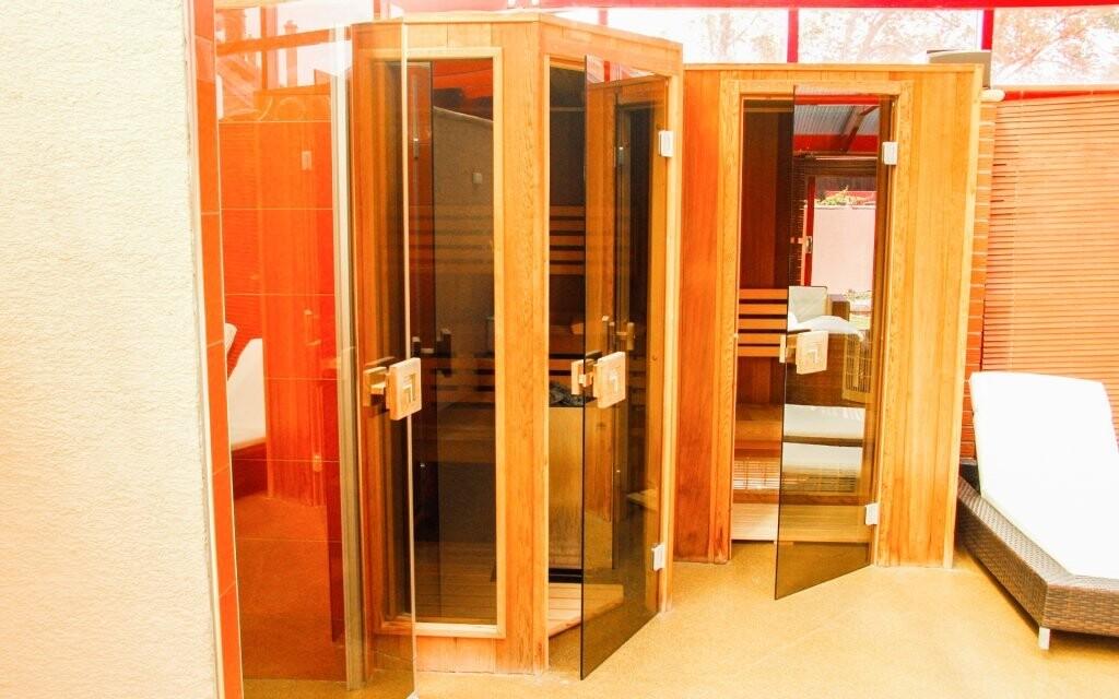 ...a sauna