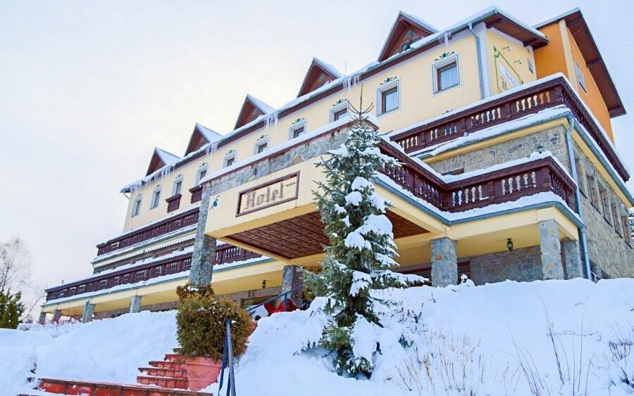 Hotel Husárik **** leží v obklopení přírodou