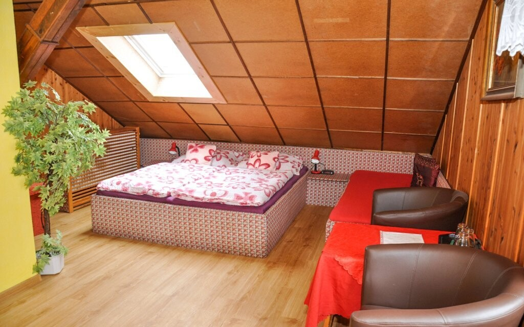 Pohodlné pokoje mají veškeré potřebné vybavení