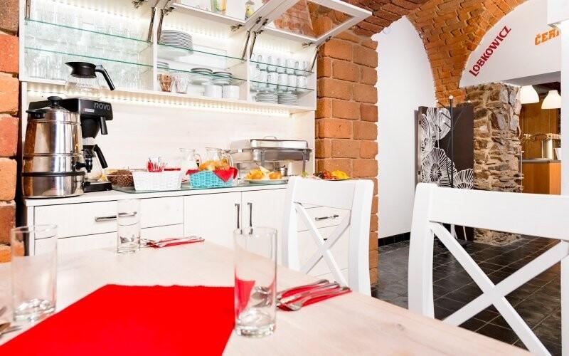 Restaurace se stylem vyrovná komfortnímu ubytování