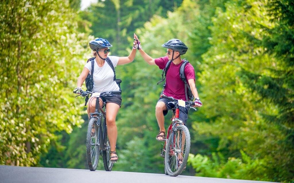 Využijte i bohaté okolní cyklostezky