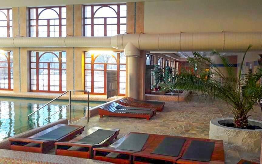 Termální lázně Chrastava nabízí bazén i lázeňské procedury