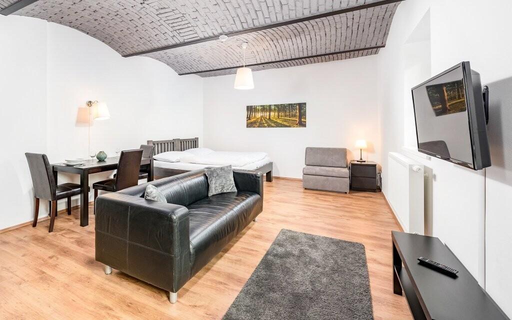 Ubytujete se v moderních apartmánech až pro 4 osoby