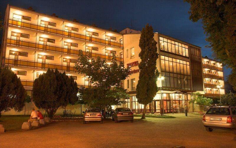 Hotel Napfény je v centru dění